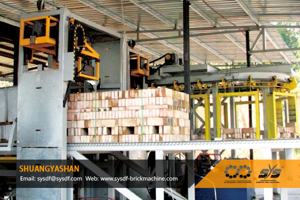 Semi-Automatic-Brick-Packing-System